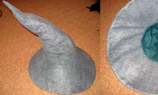 Varázsló / boszorkány kalap készítése