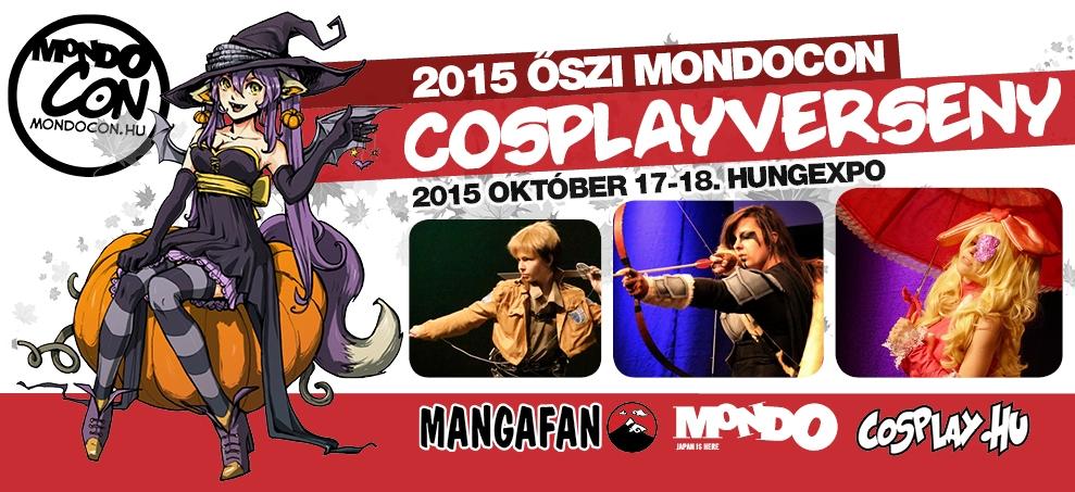 2015 Őszi MondoCon – Cosplayverseny