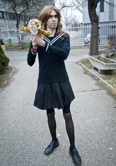 Aisaka Taigaként a Toradora című animéből (2011. december 10.)