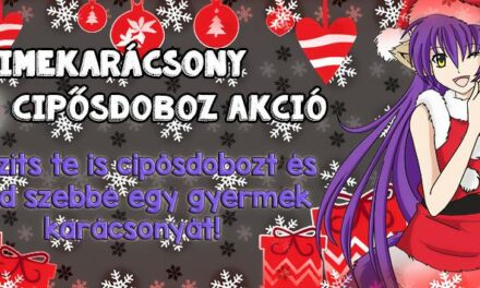 Cipősdoboz Akció az Animekarácsonyon