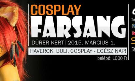 2015 Cosplay Farsang a Dürer Kertben
