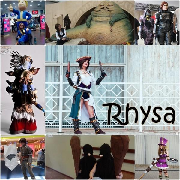 Cosplayográfia: Rhysa