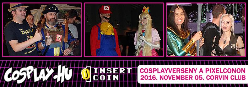 PixelCon cosplayverseny