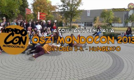 CosplayTV – ŐSZI MONDOCON 2013 zenés videó