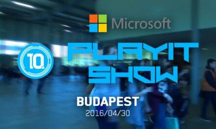 CosplayTV – 10. PLAYIT SHOW 2016 (BUDAPEST)