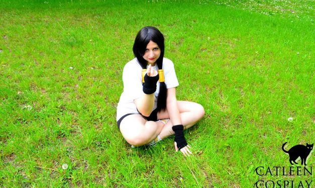 Photoshoot: Videl (Dragon Ball Z – Catleen)