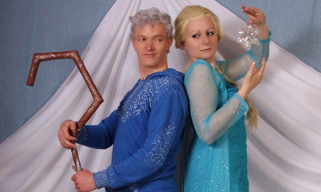 Photoshoot: Elsa és Jack (Jégvarázs és Az öt legenda – Catleen és Lord Halgor)