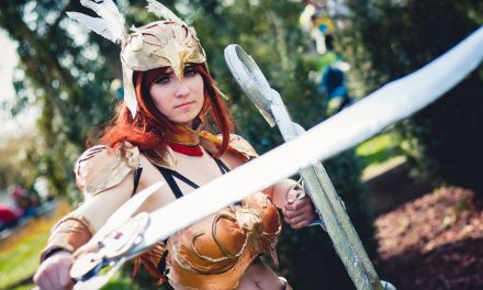 Photoshoot: Valkyrie Leona (League of Legends - Suisen Cosplay)