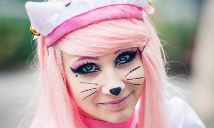 Photoshoot: Pink Neko Maid (Original - O-chan)
