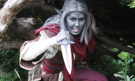 Photoshoot: Telvanni mágus (Morrowind - Sophie)