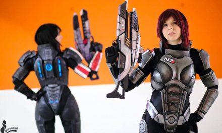 Photoshoot: Shepard duo (Mass Effect - Yuriko és Evil-Siren)