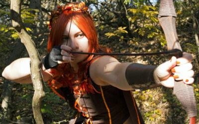 Photoshoot: Autumn Hunter (Original – Mantis)