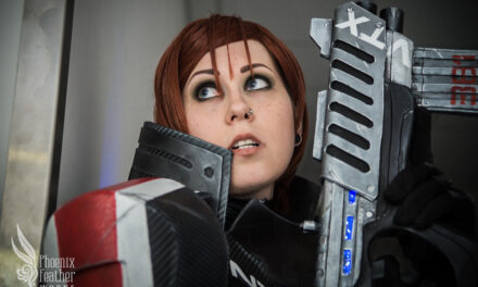 Photoshoot: Commander Shepard (Mass Effect 3 - Sophie)