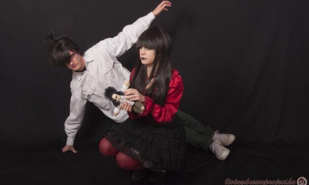 Photoshoot: Creepy Girl (Original – Galaxyna és Nagy Gábor)