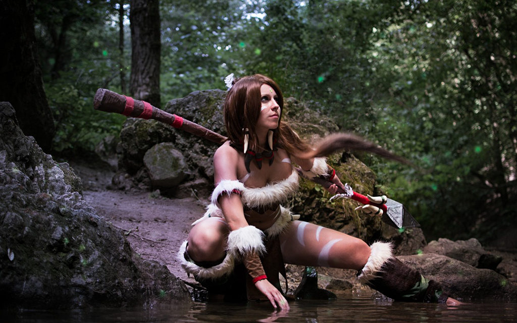 Photoshoot: Nidalee (League of Legends – Dhorin)