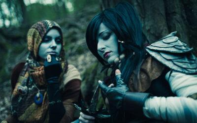 Photoshoot: Dunmer (The Elder Scrolls III: Morrowind – Dorianne és Klasha)