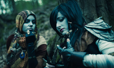 Photoshoot: Dunmer (The Elder Scrolls III: Morrowind - Dorianne és Klasha)