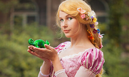 Photoshoot: Rapunzel (Disney Tangled - Elyon)