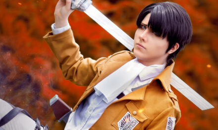Photoshoot:  Levi Ackerman (Attack on Tian - MadMiyo)