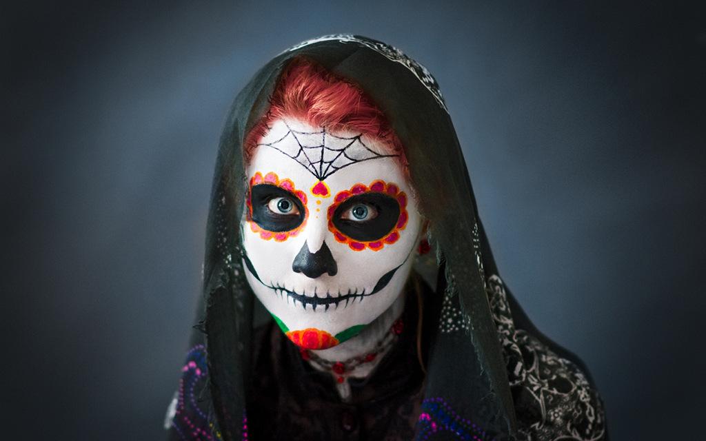 Photoshoot: Día de los Muertos ~ Sugar Skull (Original – MadMiyo)