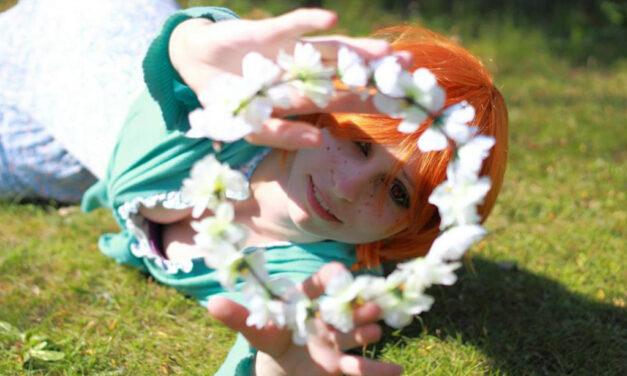 Photoshoot: Tavasztündér (Original – DarkDoll Cosplay)
