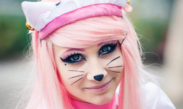 Photoshoot: Pink Neko Maid (Original – O-chan)