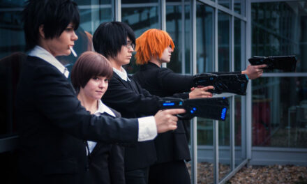 Photoshoot: Psycho Pass
