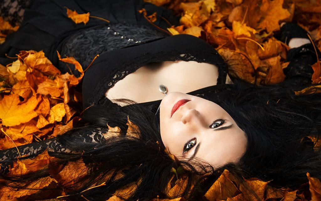 Photoshoot: Gothic Autumn (Original – Ryltha von Felis)