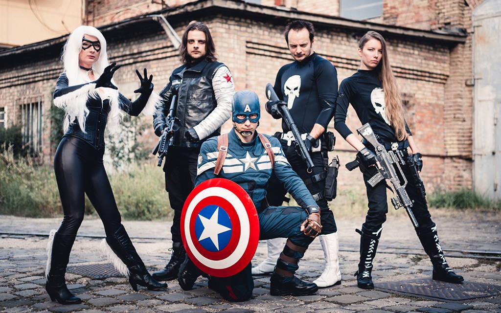 Photoshoot: Team Marvel