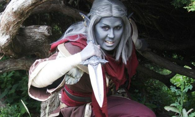 Photoshoot: Telvanni mágus (Morrowind – Sophie)