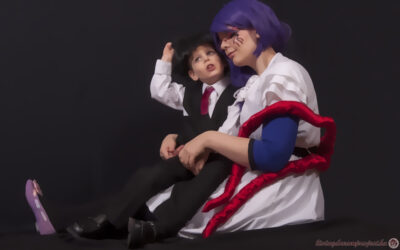 Photoshoot: Kaneki és Rize (Tokyo Ghoul – Fanchon és Nimród)