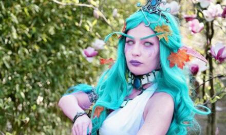 Photoshoot: Tyrande (World of Warcraft - Lara Cosplay)