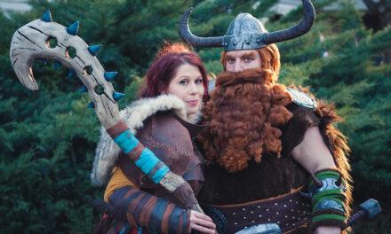 Photoshoot: Valka és Stoick (Így neveld a sárkányodat 2 - Dudus és Sophie)