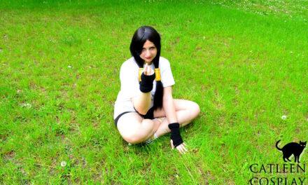 Photoshoot: Videl (Dragon Ball Z - Catleen)
