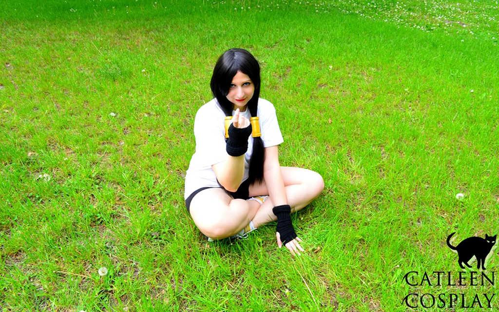 Photoshoot: Videl (Dragon Ball Z – Catleen)