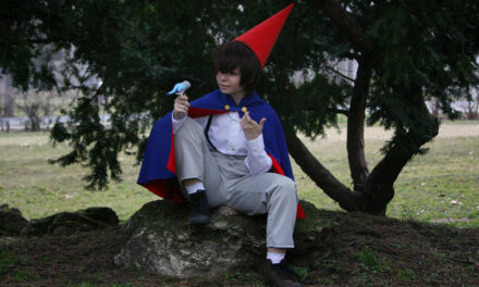 Photoshoot: Wirt (Over the Garden Wall - Haku)