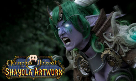 Photoshoot: Ysera (World of Warcraft - Shayola Artwork)
