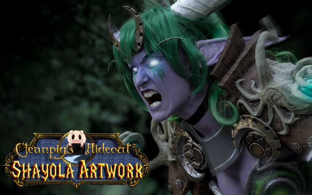 Photoshoot: Ysera (World of Warcraft – Shayola Artwork)