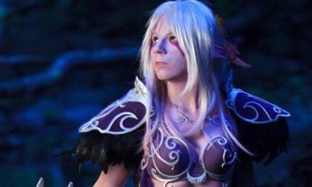Photoshoot: Nightelf (World of Warcraft - Yuriko)