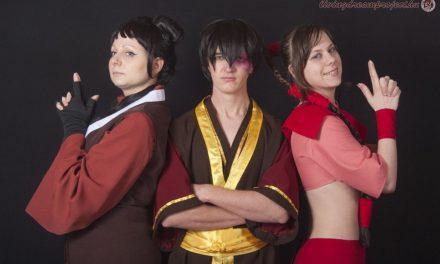 Photoshoot: Mai, Ty Lee és Zuko (Avatar Aang legendája - Catleen, Galaxina és Nagy Gábor)