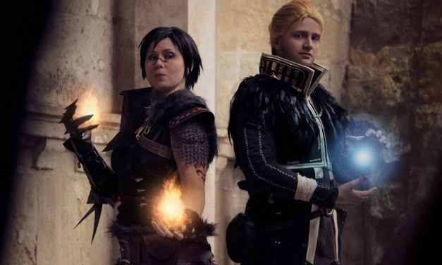Photoshoot: Hawke és Anders (Dragon Age II – Paszuly és Sophie)