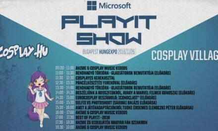 Cosplay Village az Őszi PlayIT Show-n