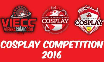VIENNA COMIC CON 2016 – Cosplayverseny felvételei