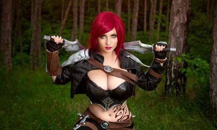 Photoshoot: Katarina (League of Legends - Suisen Cosplay)