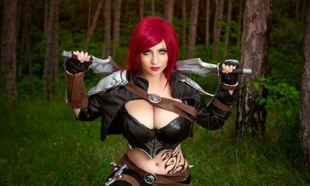 Photoshoot: Katarina (League of Legends – Suisen Cosplay)