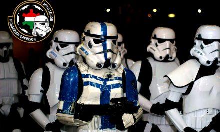 A Cosplay Farsang színpadán az 501-es Légió: Régi Helyőrség, új lendület