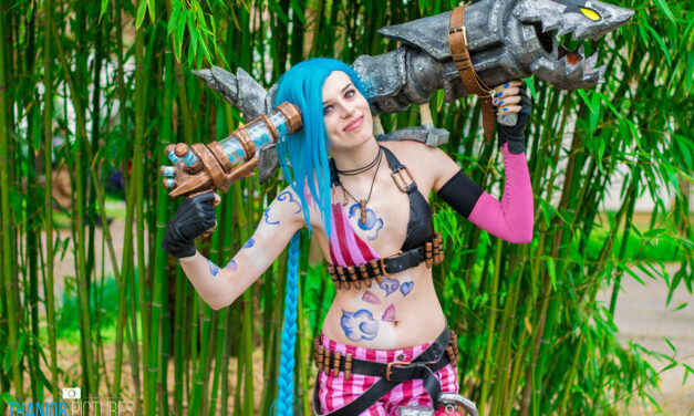 Photoshoot: Jinx (League of Legends – Rókuc Cosplay)