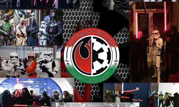 A Csillagok Háborúja Jelmezes Rajongói Klub is részt vesz a Cosplay Farsangon