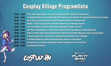 Cosplay Village programlista