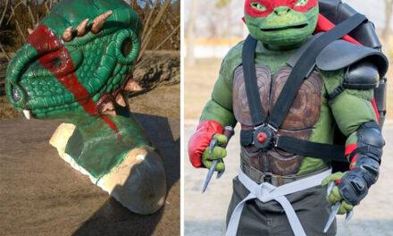 Latex és szilikon maszkok, kiegészítők cosplayhez – előadás a Cosplay Falu színpadán